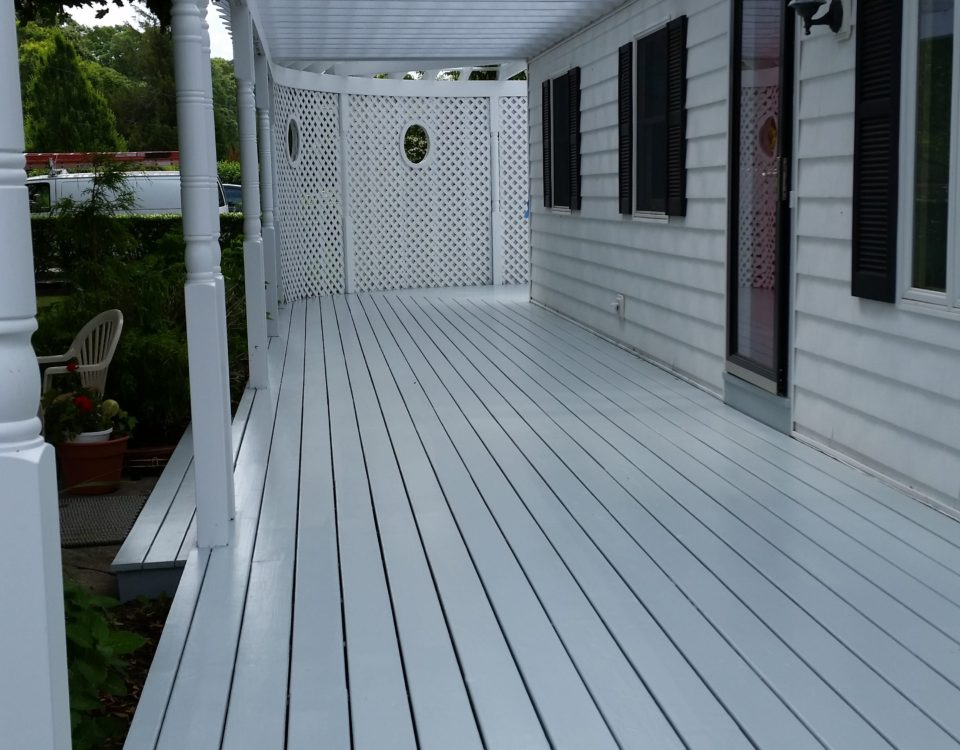 Chameleon Painting Inc. - Deck, Arbor in Cutchoge, NY.