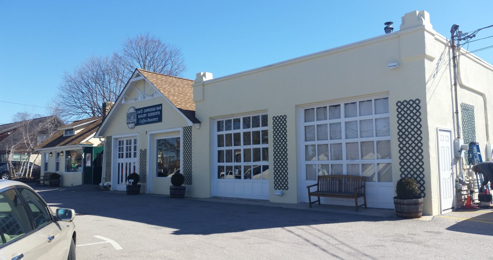 Hampton Coffee Company, Exterior Paint, Water Mill, NY