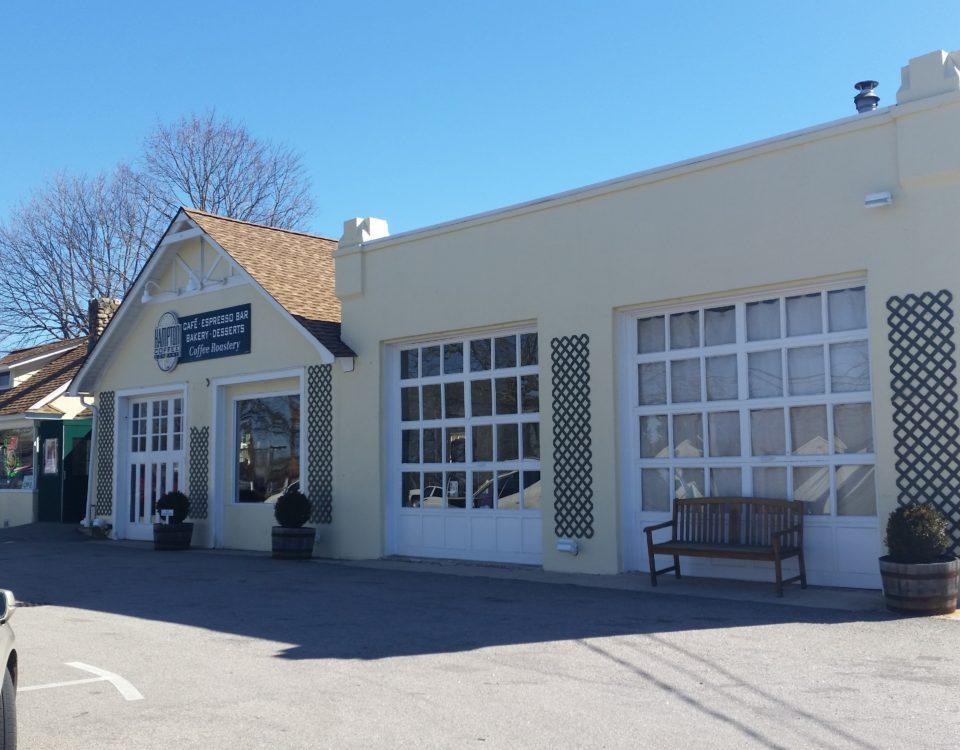 Hampton Coffee Company, Exterior Paint, Water Mill, NY