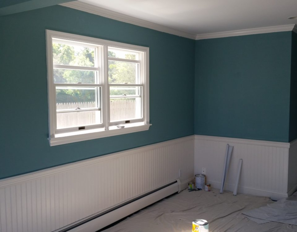 Chameleon Painting Inc. - Interior Paint on Inlet Rd. Southampton, NY.