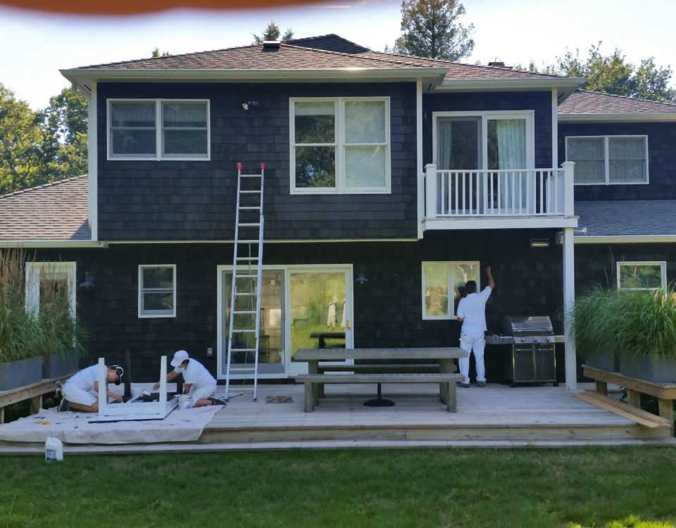 Chameleon Painting Inc - Exterior Solid Finishes